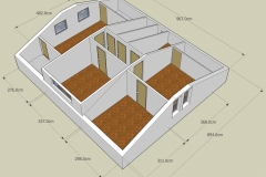 3rd floor plan (from front)