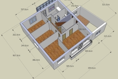 2nd floor plan (from front)